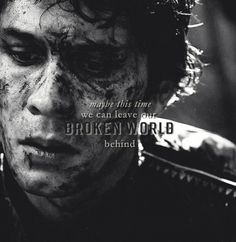 """""""Maybe this time we can leave our broken world behind."""" ~Bellamy Blake~"""