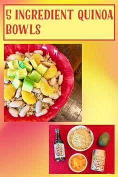 Vegan Gluten Free, Gluten Free Recipes, Vegan Vegetarian, My Recipes, Healthy Recipes, Quinoa Bowl, Ripe Avocado, How To Cook Quinoa, Meals