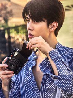 Sehun - 190910 Fourth official photobook 'PRESENT ; the moment' Baekhyun, Exo Fanart, Kai, Exo For Life, Exo Album, Xiuchen, Exo Ot12, Kim Min Seok, Exo Members