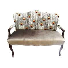 Nuala Antique Settee furniture, chair, multi