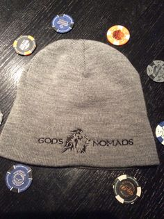 We've got ya covered with these high quality acrylic embroidered beanies. Stay warm in style! www.godsnomads.org
