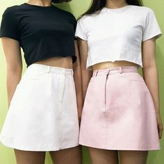 These+pastel+embroided+skirts+come+in+4+colours,+pink,+blue,+white+and+black.  Sizing+info;  Small: Waist:+60cm Length:+36cm  Medium: Waist:+64cm Length:+37cm  Large: Waist:+68cm Length:+38cm