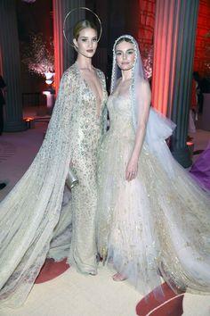 Rosie Huntington-Whiteley and Kate Bosworth Met Gala 2018 Rihanna, Beyonce, Kate Bosworth, Gala Dresses, Formal Dresses, Wedding Dresses, Zendaya, Katy Perry, Jeanne D'arc