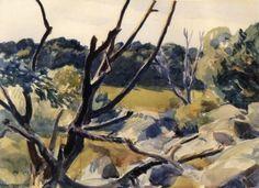 Dead Trees, Gloucester - Edward Hopper - The Athenaeum