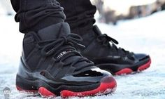 6915de8cbe5bcd Dirty Bred 11 s in the snow Air Jordan Xi