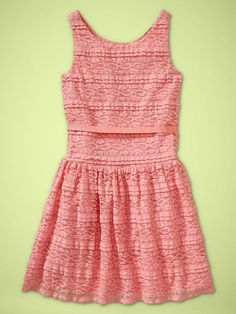 Found a lace dress finally! Too bad it's from gap kids.. Oh well.