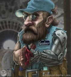 ️/⛅ Goober, Retired member of the Kingfisher Conmen (Dwarf)