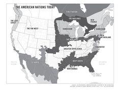 Colin Woodard American Nations
