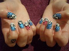 Comic nail art