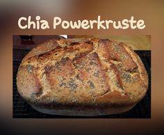 Rezept Chia-Powerkruste ... für einen gesunden Start in den Tag von claudimaus1266 - Rezept der Kategorie Brot & Brötchen