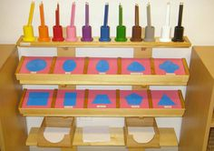 Mountain Montessori Metal Insets (and how to use them)
