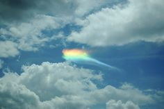 Fire rainbows... very rare rare atmospheric/meteorological phenomena... would be an amazing sight to behold