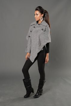 Ponchos are back! <3 This one is only $9.99