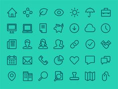 Icon Suite/Ioncs/Simple icons/Flat icons