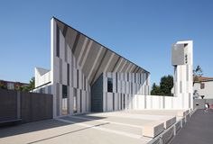 Christ Resurrection Church in Italy by Cino Zucchi Architetti