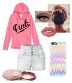 """""""Untitled #140"""" by xox-calumsgxrl on Polyvore featuring LE3NO, Vans, Lime Crime and Casetify"""