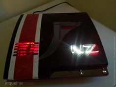 Mass Effect Styled PS3 Slim Mod