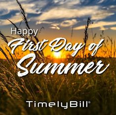 Happy official first day of summer!
