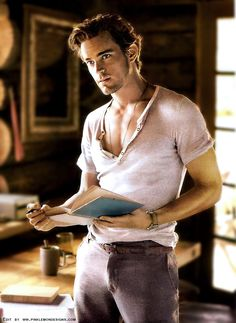 Matt Bomer - pretty sure I pinned this before, but whoa mama.
