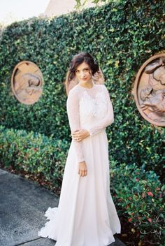 Romantic & Rustic French Inspired Wedding Ideas via TheELD.com