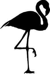 silhouette flamingo - Google zoeken