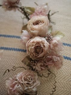 Миллефиори   ткань цветок класс декабрь Crescent букет