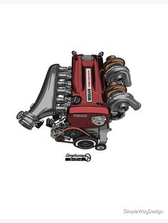 "Skyline GT-R engine' Poster by SimpleWayDesign - carros e motos Skyline GT-R engine' Poster by SimpleWayDesign - carros e motos - Skyline GT-R engine"" Posters by SimpleWayDesign Nissan Gtr R34, R33 Gtr, Nissan Sentra, Skyline Gtr R34, Tuner Cars, Jdm Cars, Car Illustration, Illustrations, Jdm Wallpaper"