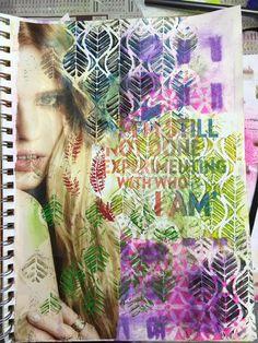 Carmen B. Norris: Art Challenge- 15 Days of 15 minute Mixed Media-6/...