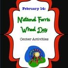 "Sure, everyone knows that February 14 is Valentine's Day, but it is also ""National Ferris Wheel Day"". This day honors the inventor of the Ferris Wheel, George Washington Gale Ferris, Jr. The five center activities included in this product revolve around the Ferris wheel theme.   Give your students the unexpected on Valentine's Day--""National Ferris Wheel Day Center Activities"" ($)"