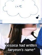 Jessica myedit mygif snsd taeyeon girls' generation kim taeyeon taengsic jung sooyeon snsd jessica snsd taeyeon sicabrows jessic ajung