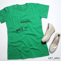 """Hmm..."". Ladies Tees. Poliflex Black by @eiffashion | Code : 657_GRN | IDR. 80.000 | Only Size L | Order text to : 08195125968 / pin: 22F33330. E : silvas_clothing@yahoo.com  #silvasoriginals #eiffashion #tees #longsleeve #ladiesfashion #fashion #poliflex #kaostumblr #tumblrtees"
