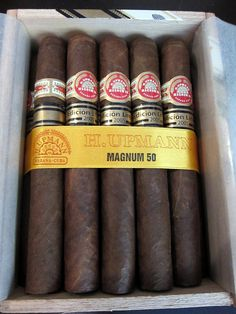 H.Upmann Magnum 50! Get em on cigarclubindia.com - the only place to find genuine Cuban cigars online in India