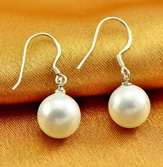 Real 925 Sterling Silver Jewelry For Women Pearl  Earring Stud Small Stud Earring For Girls Wholesale