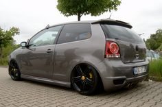 VW Polo 9n3 GTI Cup Edition on airbags Vw Polo 9n3, Volkswagen Polo, Ferdinand Porsche, Vw Polo Modified, Automobile, Polo Classic, Tuner Cars, Amazing Cars, Corvette