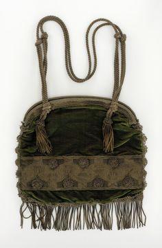 Woman's Handbag. France, circa 1907 | LACMA Collections