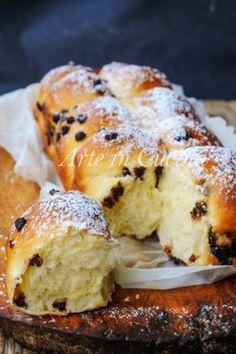 Pan brioche ricotta e gocce di cioccolato vickyart arte in cucina