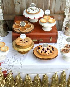 Pie Desserts For A Country Wedding