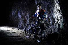 Mpora goes underground mountain biking in the mines beneath the mountain Peca in the Koroso region of Northern Slovenia. Slovenia, Mountain Biking, Abandoned, Journey, Bike, Dark, Europe, Left Out, Bicycle