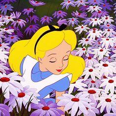 Alice (Alice in Wonderland) (c) 1951 Lewis Carroll & Walt Disney Animation Studios Disney Pixar, Heroes Disney, Walt Disney, Disney Films, Disney Animation, Disney Magic, Disney Art, Alice Disney, Alice In Wonderland 1951