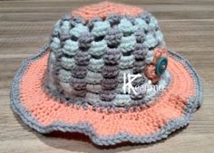 Accessoires Barbie, Baby Born, Baby Hats, Cowboy Hats, Crochet Hats, Beanie, Diy, Pattern, Inspiration
