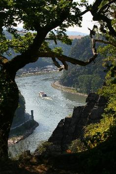Loreley Rock, Middle Rhine Valley....I think I may just be taking the most romantic vacation.