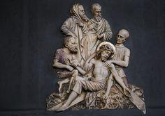 https://flic.kr/p/QhyGtd | Jesus wird ans Kreuz genagelt | St. Lambertus, Castrop-Rauxel