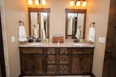 mirrors - kids' bath- Bathrooms - traditional - bathroom - minneapolis - Modern Design LLC