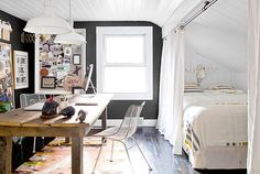 Small space creative office space