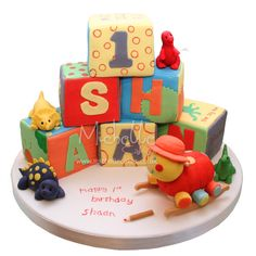 Cake Ideas for First Birthday