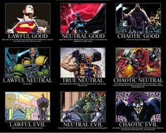 31 Best Alignment Charts Images Charts Graphics Sci Fi
