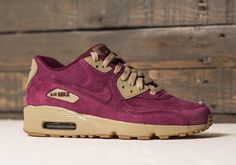 The Nike Air Max 90 Winter Pack Comes With Suede Uppers And Gum Soles