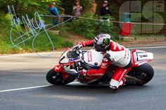 1 Day to go @jm130tt on his @HondaRacingCBR rounding the Ramsey hairpin at @iom_tt TT2014 #iomtt @becky1975em
