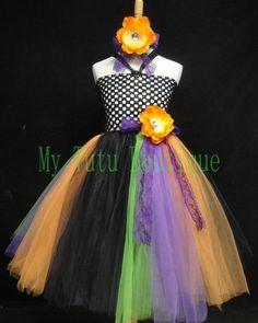 Diva Halloween Tutu Dress