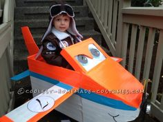 The Perfect Costume for a Boy – Plane and Simple! ... This website is the Pinterest of costumes